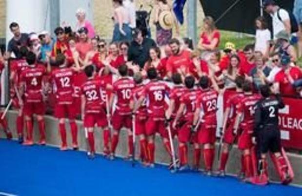 Les Red Lions contre l'Espagne pour leur 1er match en Belgique depuis leur sacre mondial