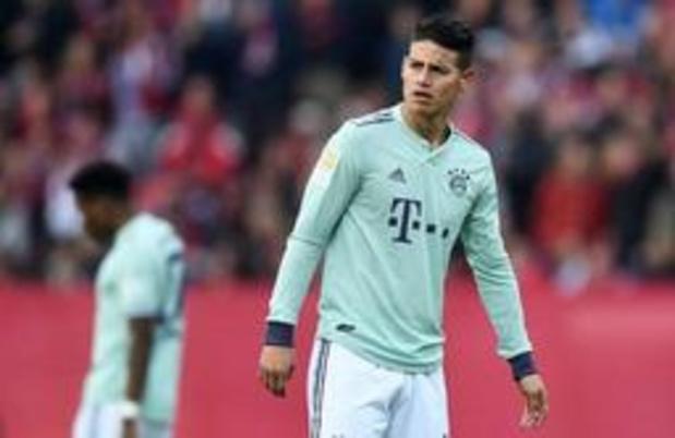 Bayern München bevestigt terugkeer van Rodriguez naar Real