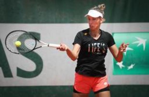 Elise Mertens behoudt twintigste plaats voor Roland Garros