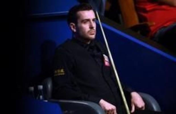 WK snooker - Geen vierde wereldtitel voor Mark Selby