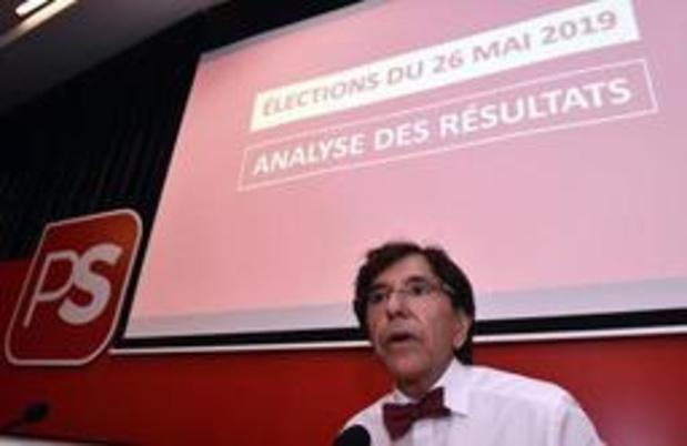 Le PS entame ses consultations mercredi par le MR à Namur et Ecolo à Bruxelles