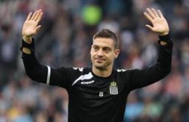 Jupiler Pro League - Le capitaine de Charleroi Javi Martos met un terme à sa carrière