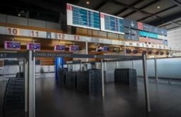 Spontane werkonderbreking van bewakingsagenten op luchthaven Charleroi
