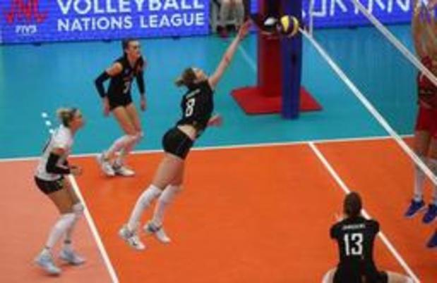 Olympisch kwalificatietoernooi volley - Yellow Tigers redden met vlotte 3-0 zege eer tegen Kenia