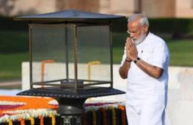 Modi legt eed af voor tweede ambtstermijn als premier