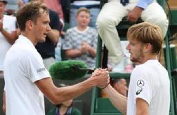 ATP Cincinnati - Daniil Medvedev houdt David Goffin van titel