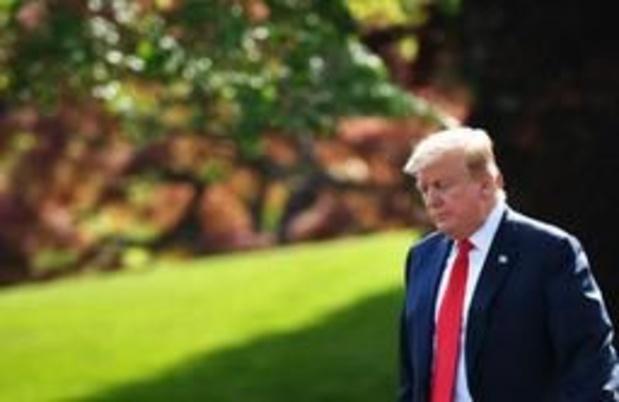 """Donald Trump assure que le Congrès """"n'est pas en mesure"""" de le destituer"""