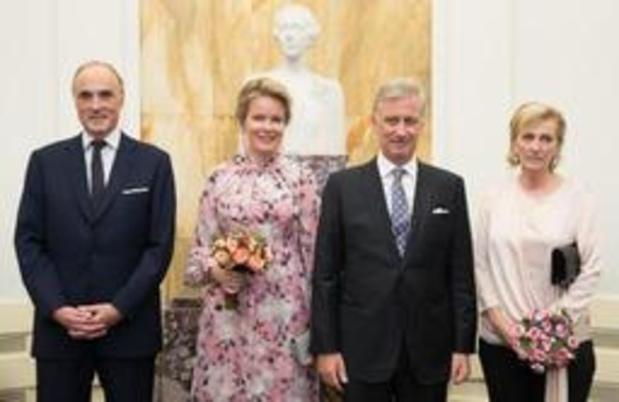 Fête nationale - Le couple royal assiste au concert Prélude à la Fête nationale à Bozar