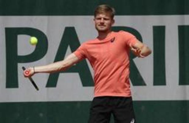 Goffin zonder problemen naar tweede ronde Roland Garros