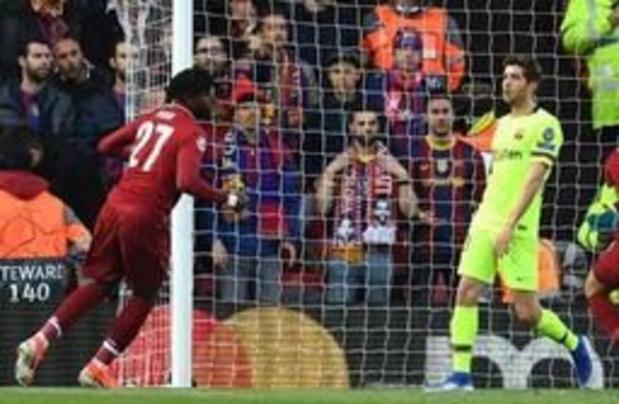 Champions League - Liverpool vernedert Barcelona en realiseert gedroomde ommekeer, Origi scoort twee keer