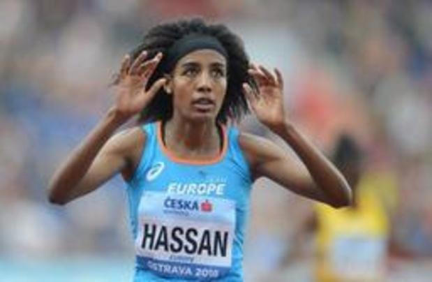 Memorial Van Damme - Nederlandse Hassan wint prestigieuze 5.000 meter, Obiri pas vierde