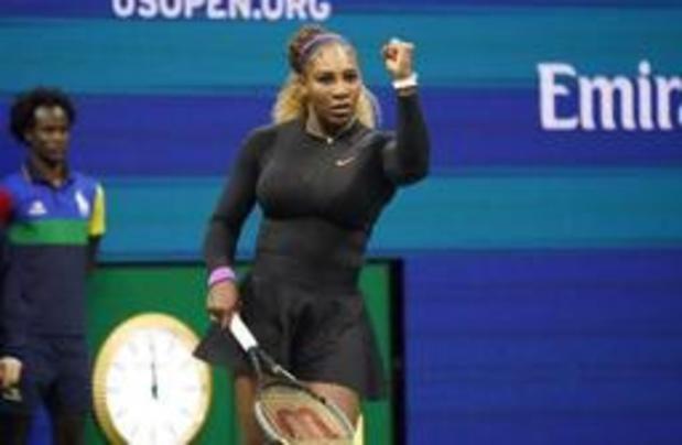 Serena Williams a dû batailler pour passer au 3e tour