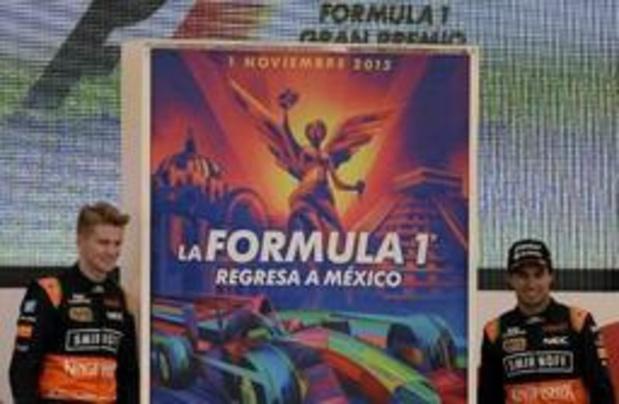 Le GP du Mexique au calendrier jusqu'en 2022