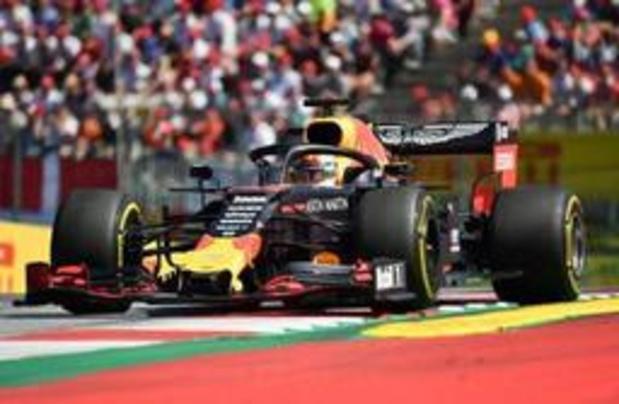 Max Verstappen racet opnieuw naar zege in GP van Oostenrijk na knappe inhaalrace