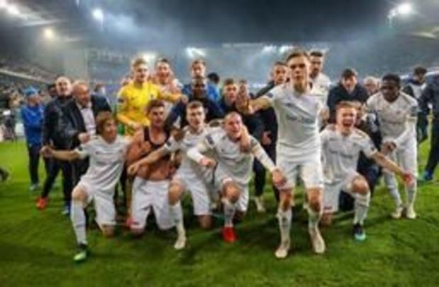Jupiler Pro League - Genk s'offre un 4e titre de champion de Belgique