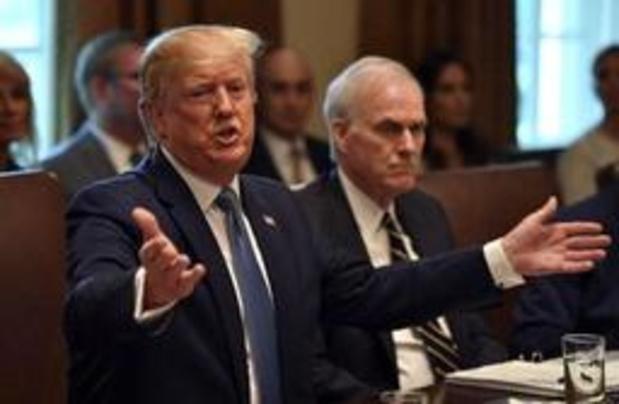 Trump annonce une enquête sur un lien éventuel entre Google et la Chine