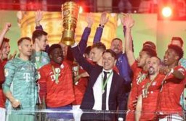 """Le président du Bayern Munich Uli Hoeness l'assure: """"Kovac reste à 100 pourcent"""""""