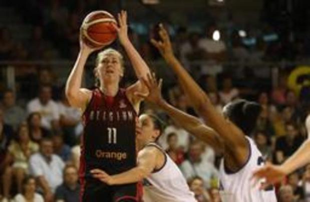 EK basket (v) - Belgian Cats winnen oefeninterland tegen Italië