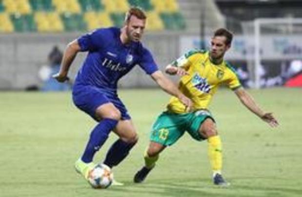Partage entre La Gantoise et Larnaca au 3e tour préliminaire aller de l'Europa League