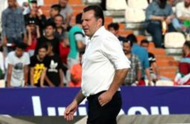 Belgen in het buitenland - Marc Wilmots debuteert met klinkende zege als bondscoach van Iran