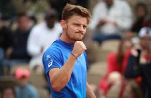 David Goffin, 29e, wint een plaats op wereldranglijst