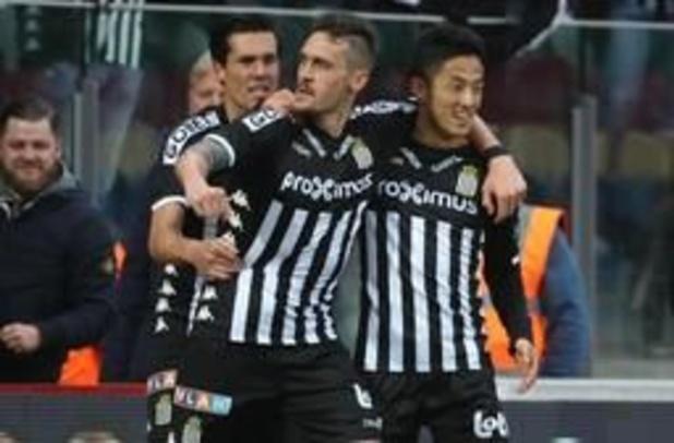 Jupiler Pro League - Charleroi rejoint dans les derniers instants à Ostende