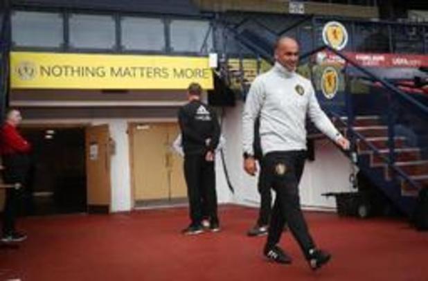 """Rode Duivels - Roberto Martinez wou """"niemand misleiden voor interland tegen San Marino"""""""