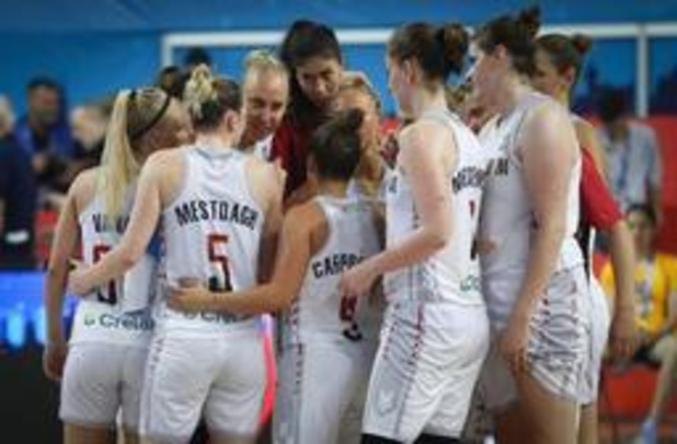 EK basket (v) - Rusland steekt Belgian Cats handje toe