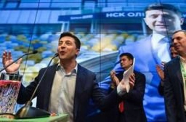 Presidentsverkiezingen Oekraïne - Eerste taak is gevangenen van conflict in oosten vrij krijgen, zegt Zelensky