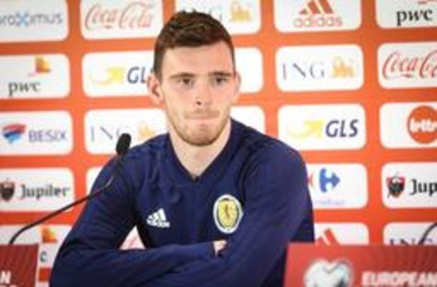 "Diables Rouges - Andrew Robertson veut ""replacer l'Ecosse sur la carte du football"""