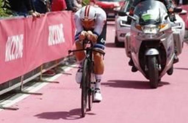 Giro - Campenaerts is erg ontgoocheld om tweede plek na pech