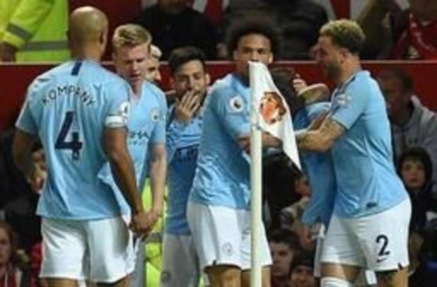 Belgen in het buitenland - City pakt leiding na winst in Manchester Derby