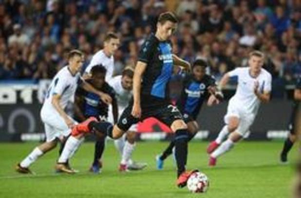 Ligue des Champions - Le Club Bruges s'impose 1-0 contre le Dynamo Kiev et assure le minimum avant le retour