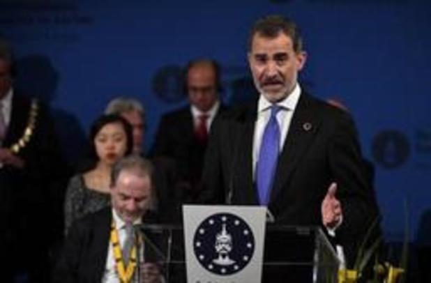 """Spaanse koning roept Europa op om """"angst van burgers ernstig te nemen"""""""