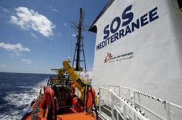 Asiel en migratie - SOS-Méditerranée en AZG varen met opvolger Aquarius opnieuw uit