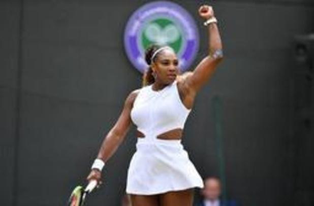 Serena Williams blijft in de running voor achtste titel