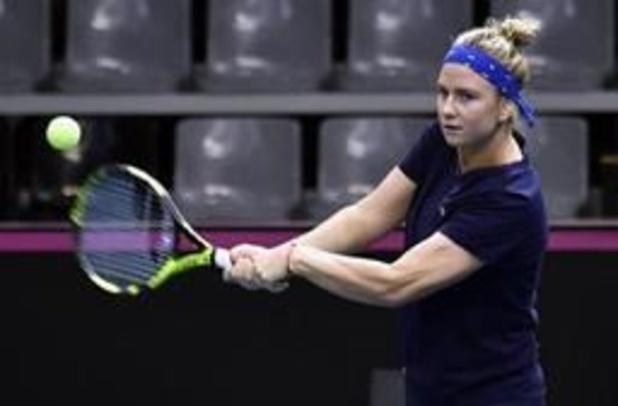 WTA Charleston - Ysaline Bonaventure struikelt over eerste horde