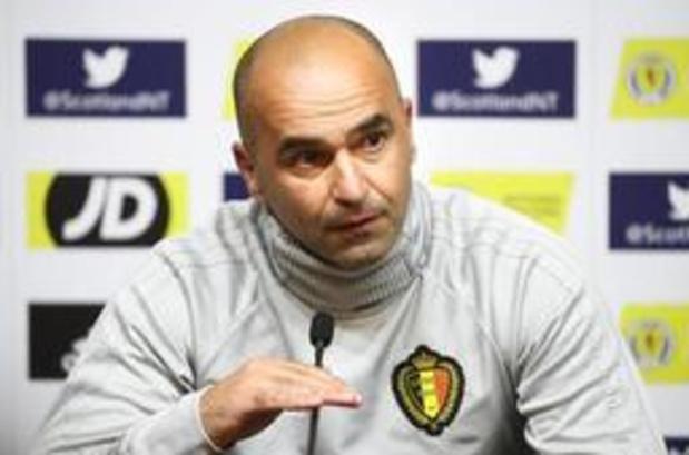 """Rode Duivels - Roberto Martinez waarschuwt voor tegenstander: """"Schotland is een gewond dier"""""""