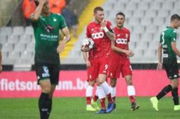 Jupiler Pro League - Standard maakt pas in het slot het verschil tegen Cercle Brugge