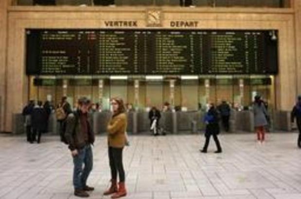 """""""Le but n'est pas de paralyser le trafic ferroviaire à Bruxelles"""""""