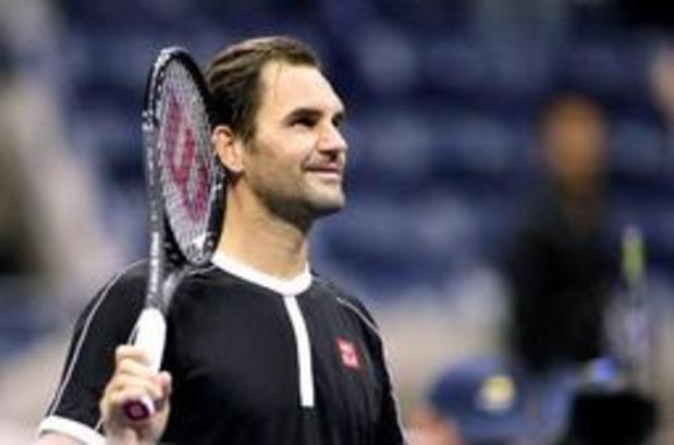 Roger Federer a débuté son tournoi par la perte d'un set, Goffin contre Barrère au 2e tour à l'US Open