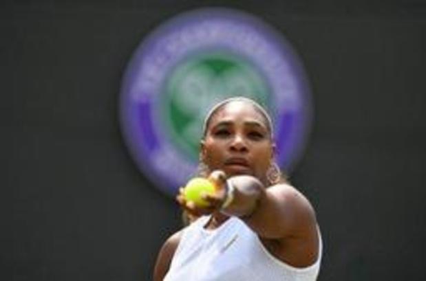 Serena Williams poursuit sa route à Wimbledon