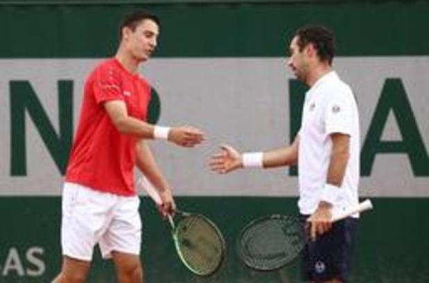 Roland-Garros - Joran Vliegen in kwartfinales dubbelspel