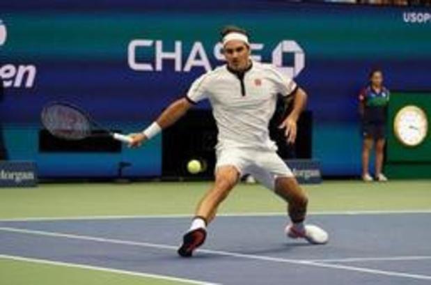 US Open - Roger Federer concède un set mais avance au 3e tour
