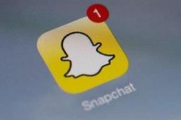 Recordgroei bij gebruikers Snapchat