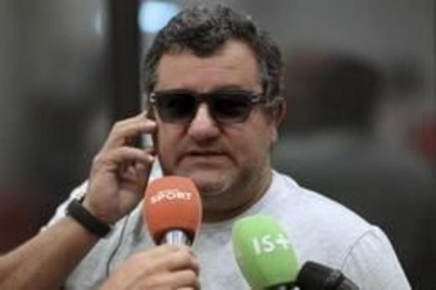 FIFA heft schorsing van Mino Raiola op