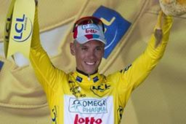 Non retenu par son équipe, Philippe Gilbert sera absent au départ du Tour le 6 juillet à Bruxelles