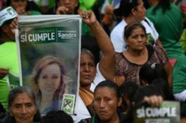 Guatemala naar stembus voor tweede ronde presidentsverkiezingen