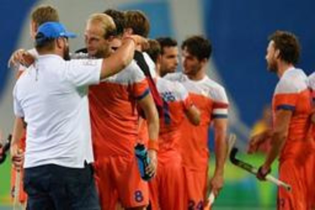 EK hockey (m) - Nederland pakt brons