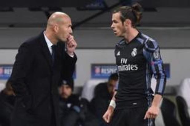 Zinédine Zidane rekent alsnog op Gareth Bale en James Rodriguez